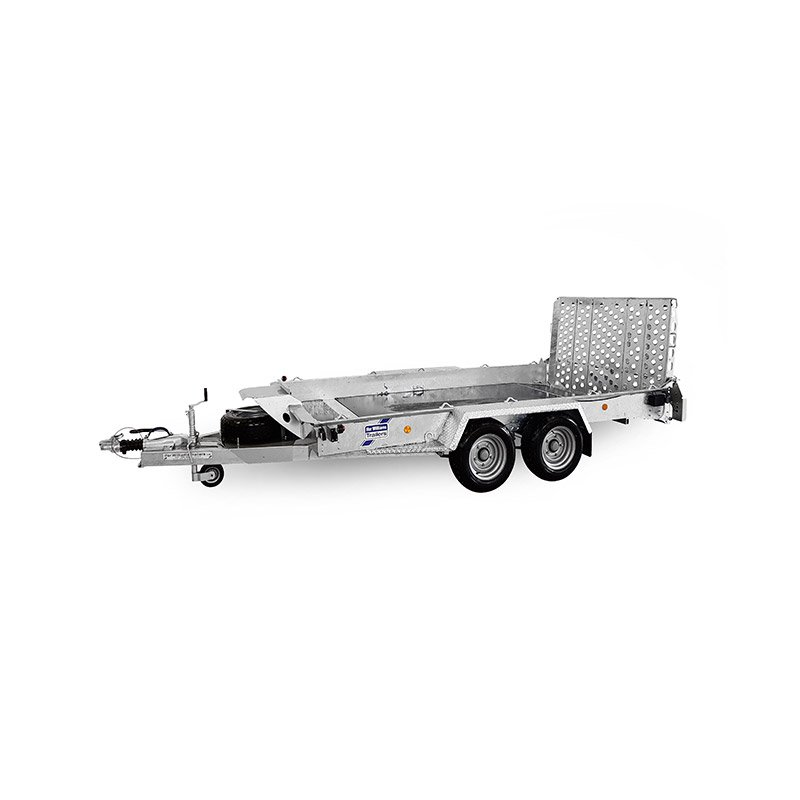 Ifor Williams GH106BT Maskintrailer