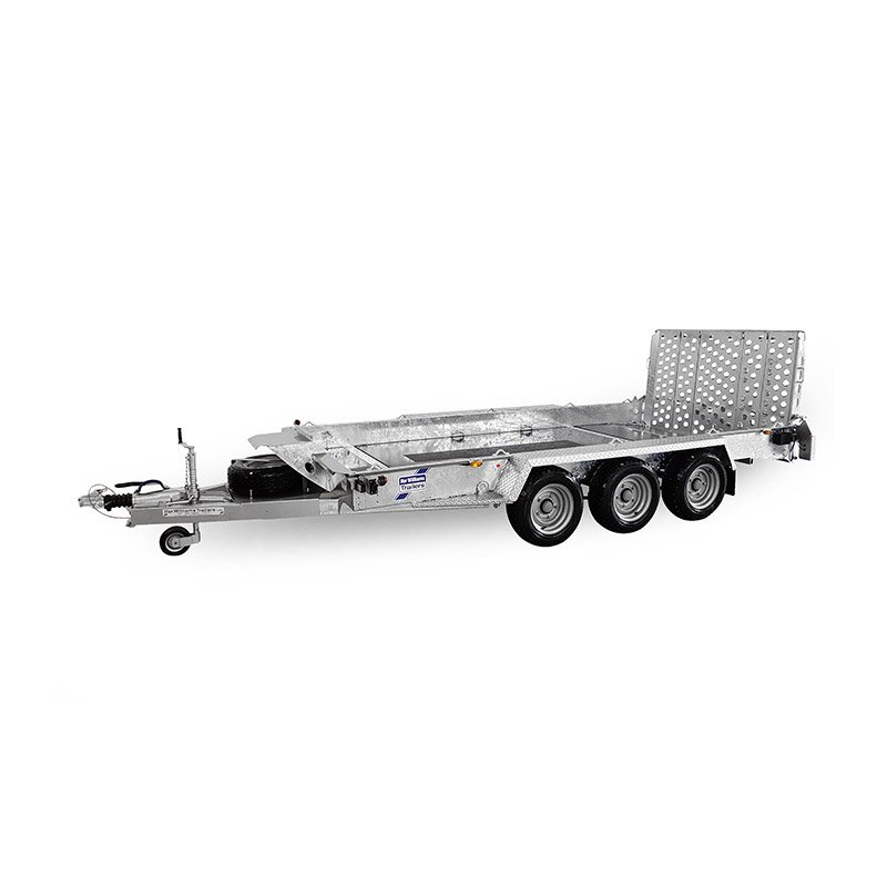 Ifor Williams GH146BT Maskintrailer