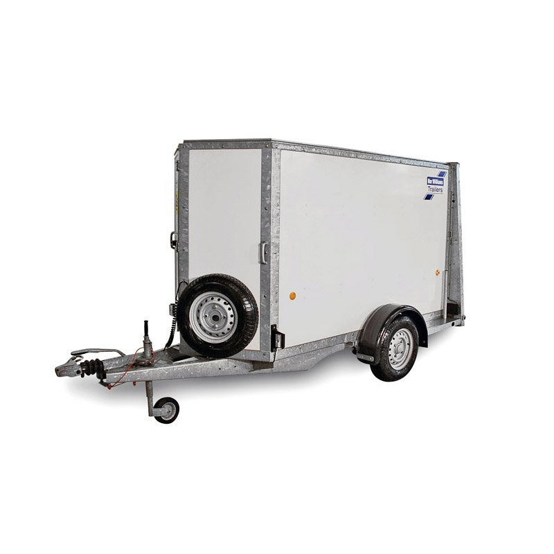 Ifor Williams BV85 – 1-akslet Kassetrailer