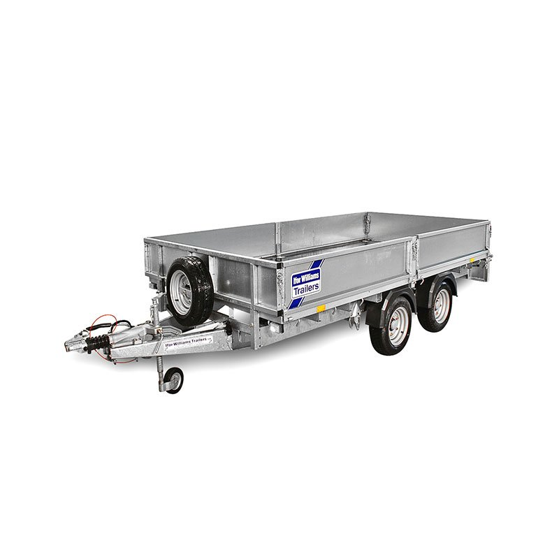 Ifor Williams LM105 Ladtrailer