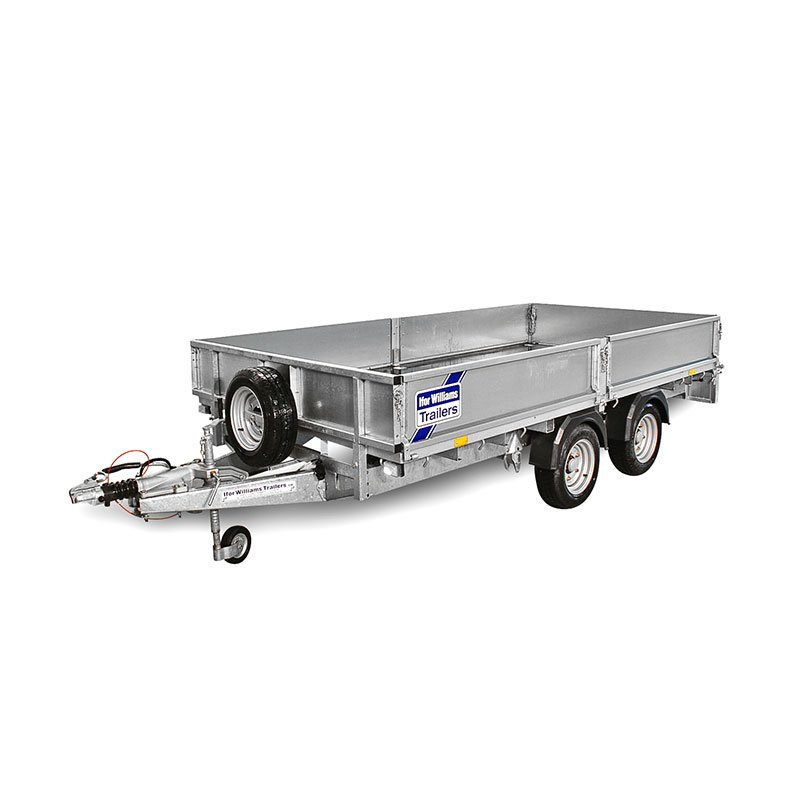 Velsete Ifor Williams LM126 ladtrailer | Ifor Williams Trailers CG-62
