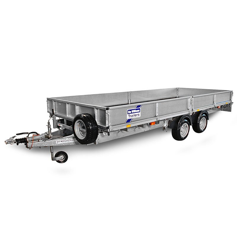 Ifor Williams LM187 Ladtrailer