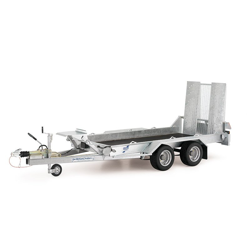 Ifor Williams GH94BT Maskintrailer