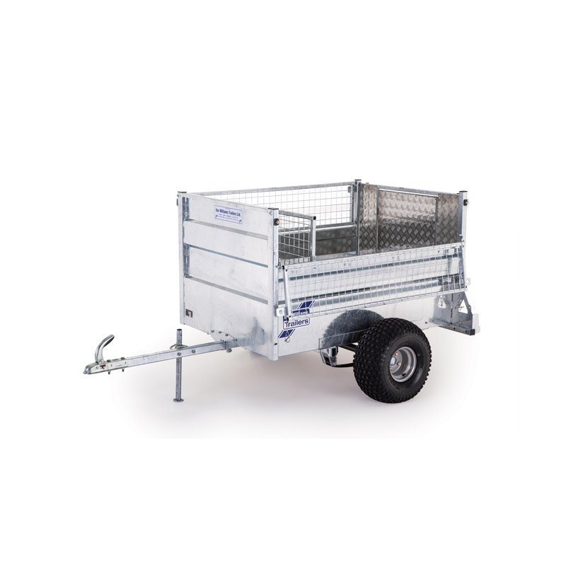 Ifor Williams Q5E Off-Road Ladtrailer