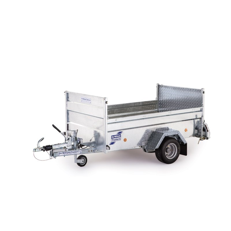 Ifor Williams Q7E On-Road Ladtrailer