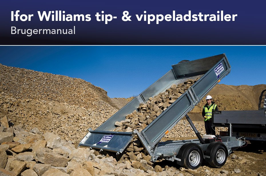 Ifor Williams tip- & vippeladstrailere