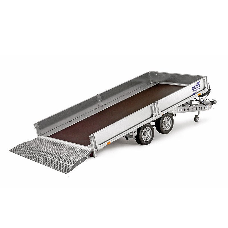 Ifor Williams TB4621-302 Vippeladstrailer