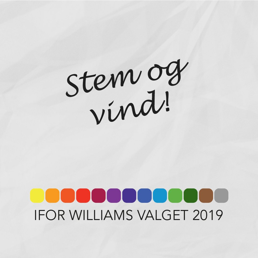 Stem Og Vind! - Ifor Williams Valget 2019