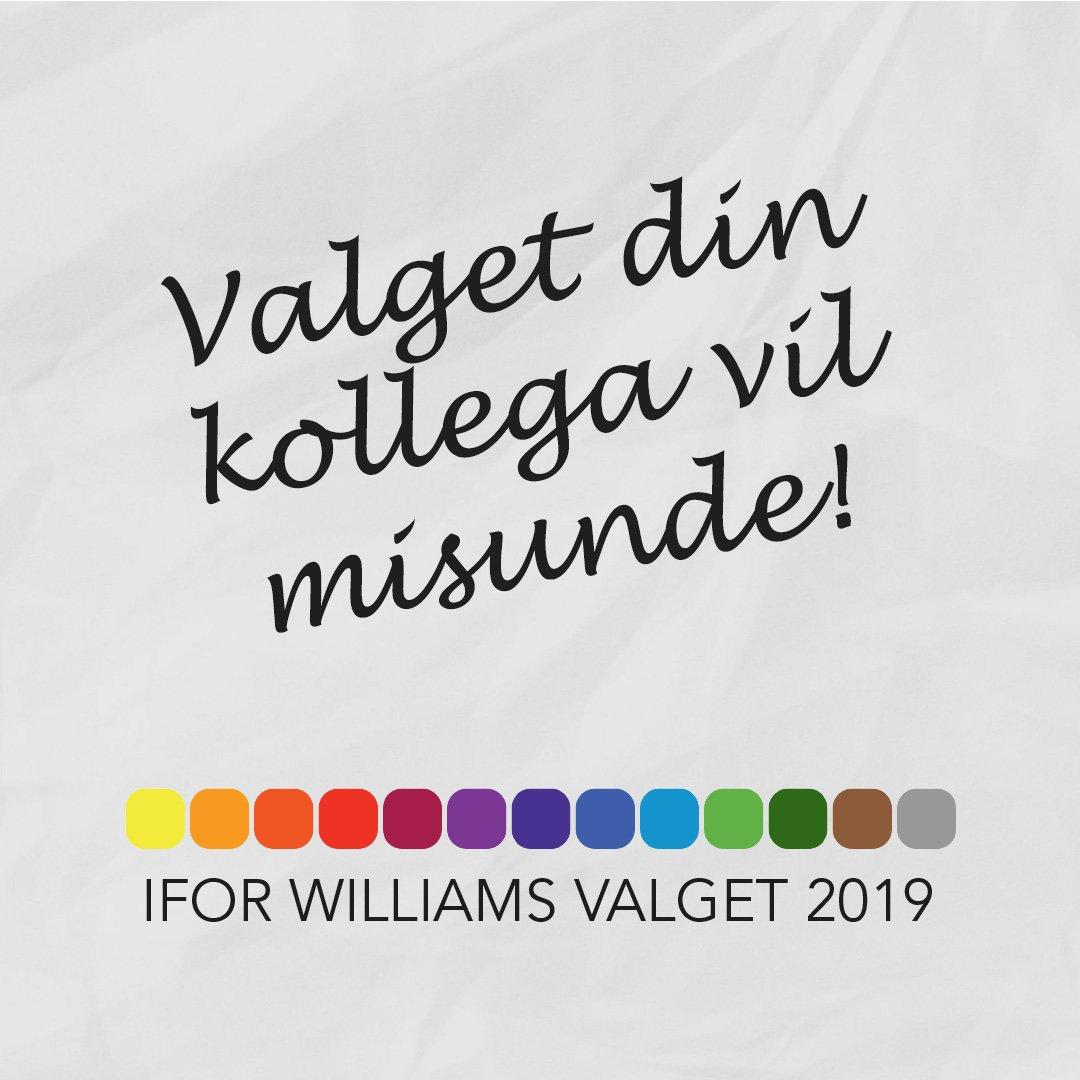 Valget Din Kollega Vil Misunde! - Ifor Williams Valget 2019