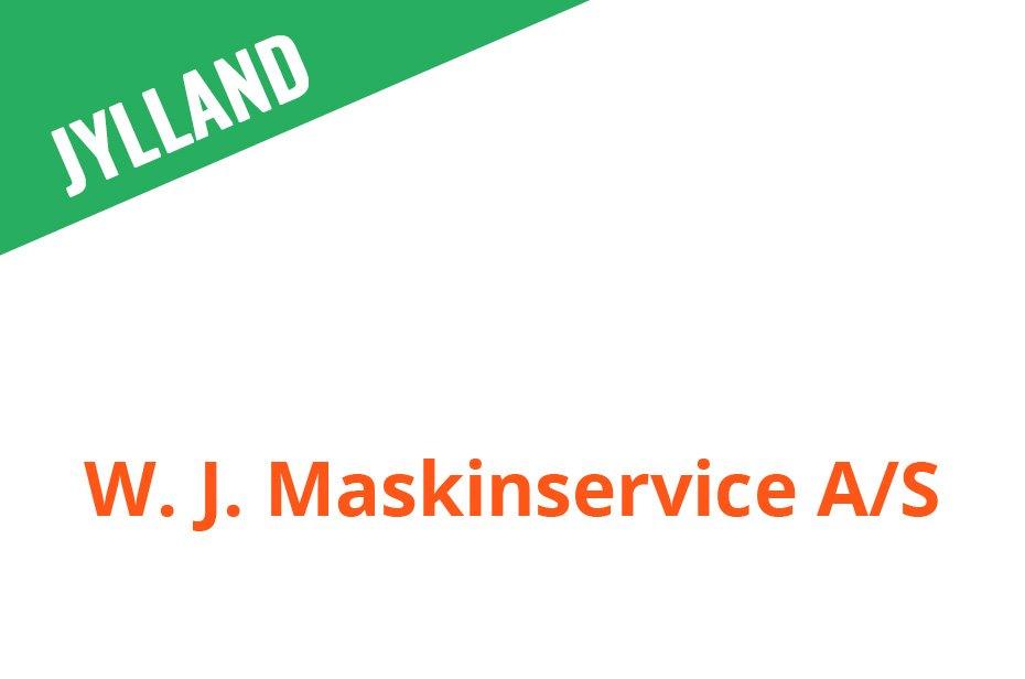 W. J. Maskinservice A/S