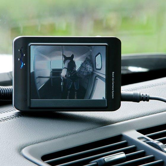 Kamera med skærm
